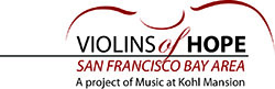 Violins of Hope Bay Area