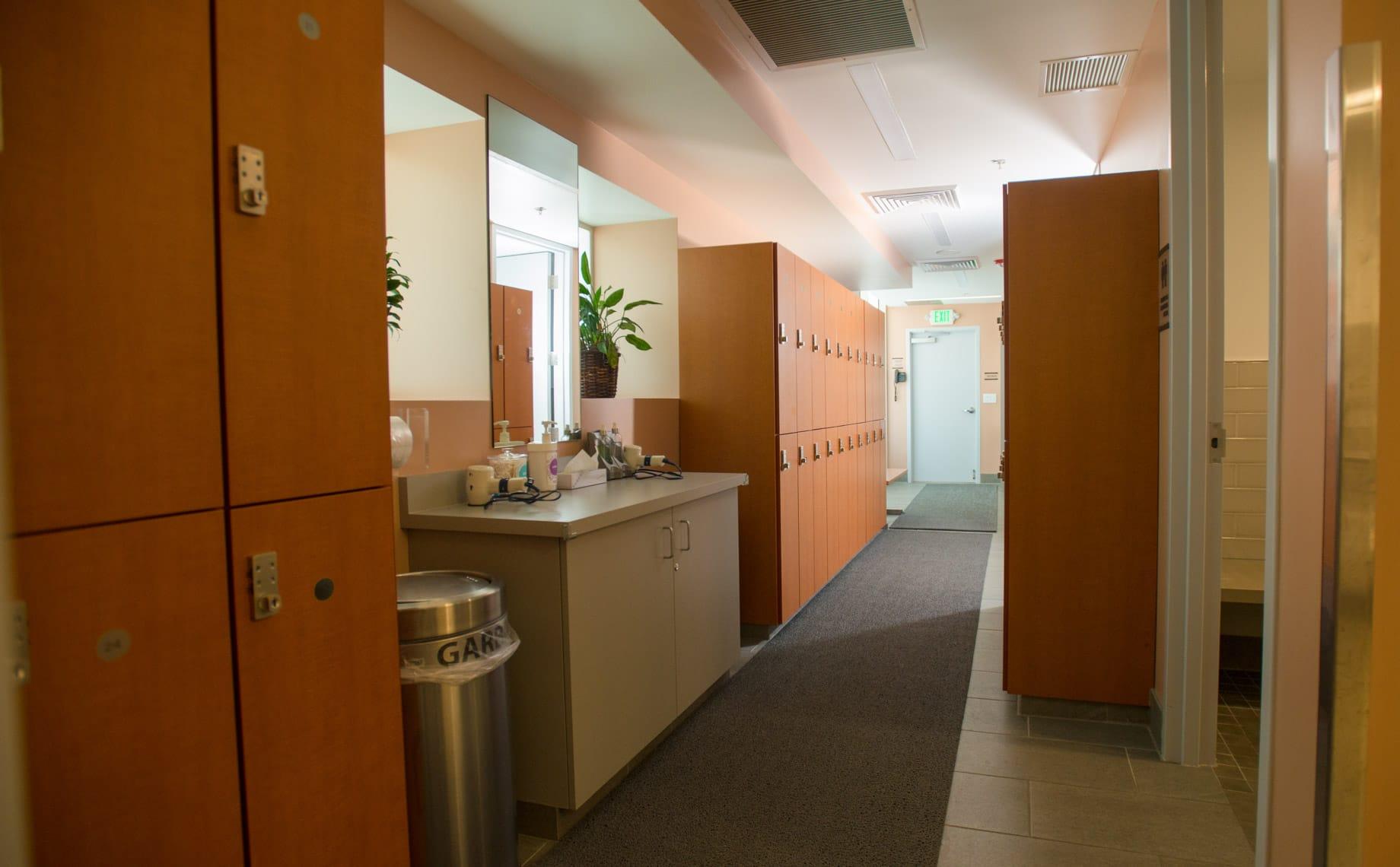 PJCC locker room