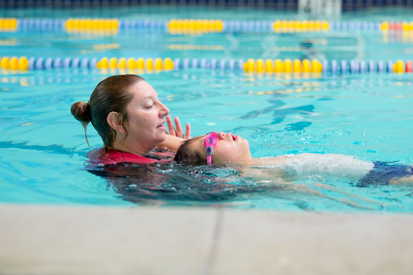 Swimming Pool Lessons : Swim school peninsula jewish community center