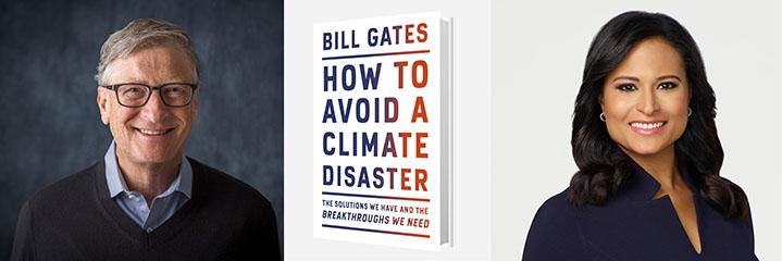 Bill Gates with Kristen Welker